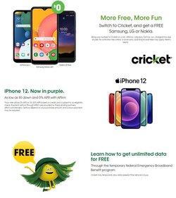 Cricket Wireless catalog ( 6 days left)