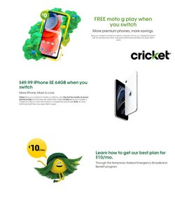 Electronics & Office Supplies deals in the Cricket Wireless catalog ( 2 days left)