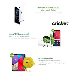 Electronics & Office Supplies deals in the Cricket Wireless catalog ( 26 days left)