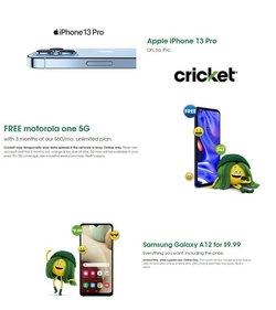 Cricket Wireless catalog ( 1 day ago)