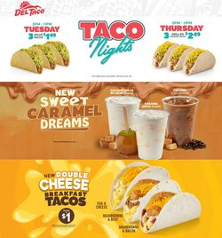 Restaurants deals in the Del Taco catalog ( 12 days left)