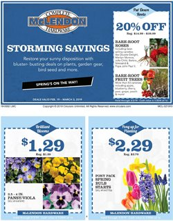 Prints deals in the McLendon weekly ad in Bothell WA
