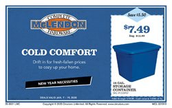 McLendon deals in the Seattle WA weekly ad