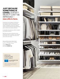 Mirror deals in the The Container Store weekly ad in New York