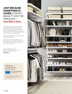Mirror deals in the The Container Store weekly ad in Newark DE