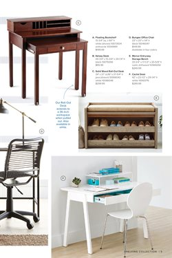 Office furniture deals in the The Container Store weekly ad in Kent WA