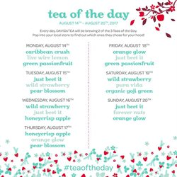 DAVIDsTEA deals in the Chicago IL weekly ad