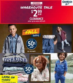 Kids, Toys & Babies deals in the Osh Kosh catalog ( Expires today)