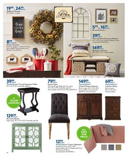 Table deals in the Christmas Tree Shops weekly ad in Poughkeepsie NY