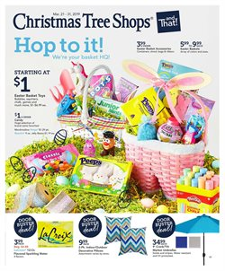 Basket deals in the Christmas Tree Shops weekly ad in New York