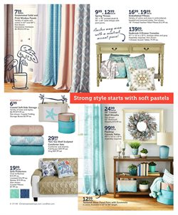 Furniture deals in the Christmas Tree Shops weekly ad in Erie PA