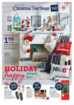 South Towne Centre Shopping Center deals in the Christmas Tree Shops weekly ad in Dayton OH