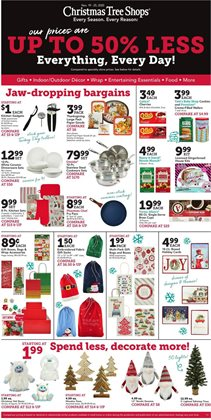 Christmas Tree Shops catalogue in New York ( Expires today )
