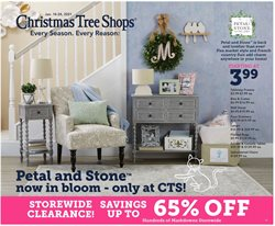 christmas tree deals in the Christmas Tree Shops catalog ( 3 days left)
