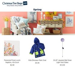 christmas tree deals in the Christmas Tree Shops catalog ( Expires tomorrow)