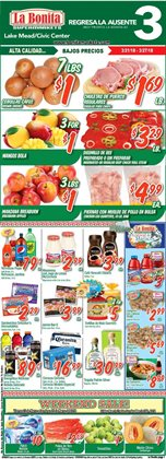 La Bonita Supermarkets deals in the Las Vegas NV weekly ad