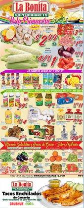 La Bonita Supermarkets catalogue ( Expired )