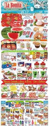 La Bonita Supermarkets catalogue ( 1 day ago )