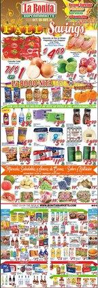 La Bonita Supermarkets deals in the La Bonita Supermarkets catalog ( Expires tomorrow)