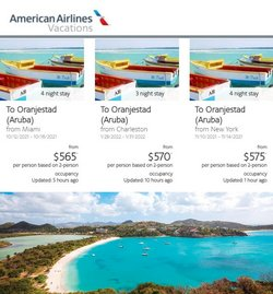 Travel & Leisure deals in the American Airlines catalog ( Expires today)