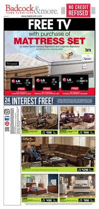 Bed deals in the Badcock weekly ad in Savannah GA