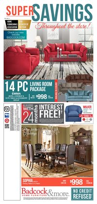 Home & Furniture deals in the Badcock weekly ad in Aiken SC
