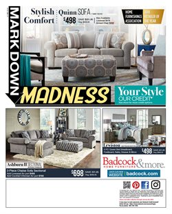 Home & Furniture deals in the Badcock weekly ad in Acworth GA