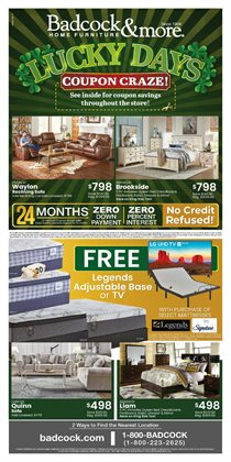 Home & Furniture offers in the Badcock catalogue in Salisbury NC ( 1 day ago )