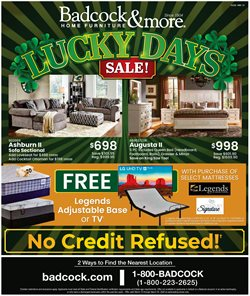Home & Furniture offers in the Badcock catalogue in Burlington NC ( 2 days left )