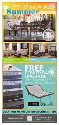 Home & Furniture offers in the Badcock catalogue in Savannah GA ( 23 days left )