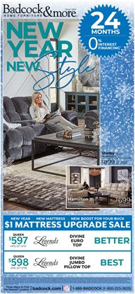Home & Furniture offers in the Badcock catalogue in Salisbury NC ( 10 days left )
