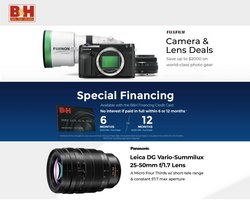 Electronics & Office Supplies deals in the BH Photo catalog ( 2 days left)