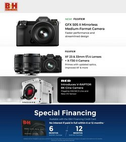 Electronics & Office Supplies deals in the BH Photo catalog ( 3 days left)
