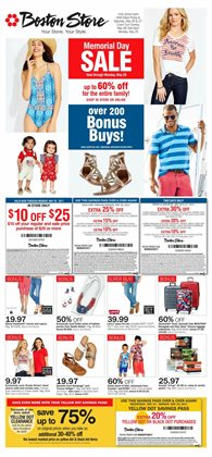 Fox River Mall deals in the Boston Store weekly ad in Appleton WI