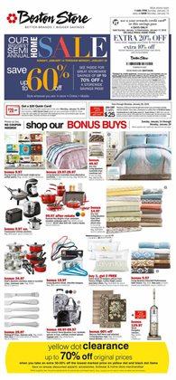 Boston Store deals in the Milwaukee WI weekly ad
