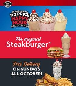 Restaurants deals in the Steak 'n Shake catalog ( 5 days left)