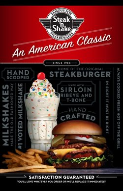 Steak 'n Shake deals in the Houston TX weekly ad