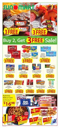 Sun Mart deals in the North Platte NE weekly ad
