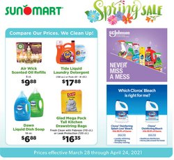 Sun Mart catalogue ( More than a month )