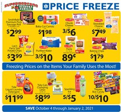 Supermercado Nuestra Familia catalogue ( More than a month )