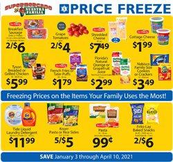 Supermercado Nuestra Familia catalogue ( More than a month )