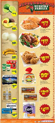 Supermercado Nuestra Familia catalogue ( Expired )