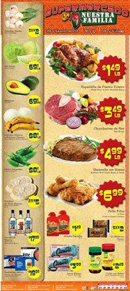 Supermercado Nuestra Familia catalogue ( 2 days ago )