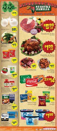 Supermercado Nuestra Familia deals in the Supermercado Nuestra Familia catalog ( 1 day ago)