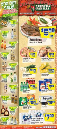 Supermercado Nuestra Familia deals in the Omaha NE weekly ad