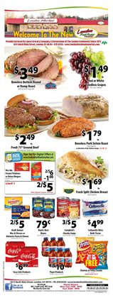 Wholesale Food Outlet deals in the London KY weekly ad
