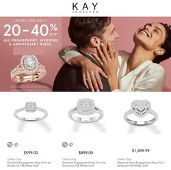 Jewelry & Watches offers in the Sterling Family of Jewelers catalogue in Pearland TX ( Published today )