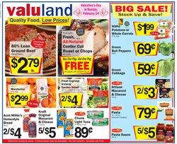 Valu Land catalogue ( Expired )