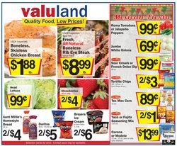 Valu Land catalogue ( 1 day ago )