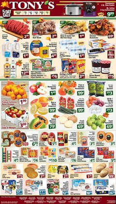 Grocery & Drug offers in the Tony's Finer Food catalogue in Lincolnwood IL ( Published today )